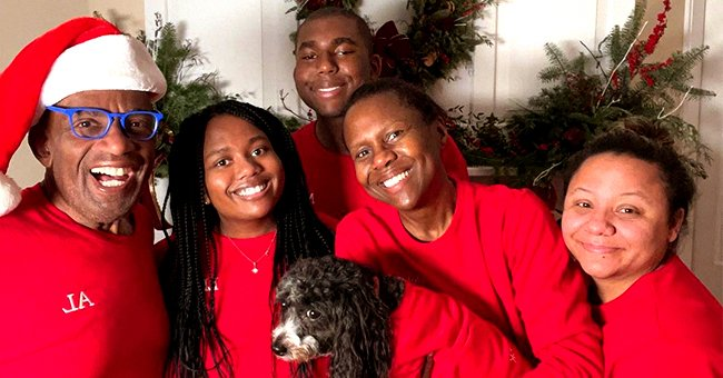 Al Roker, Craig Melvin, Mariah Carey & More Pose with Family in Matching Christmas Outfits