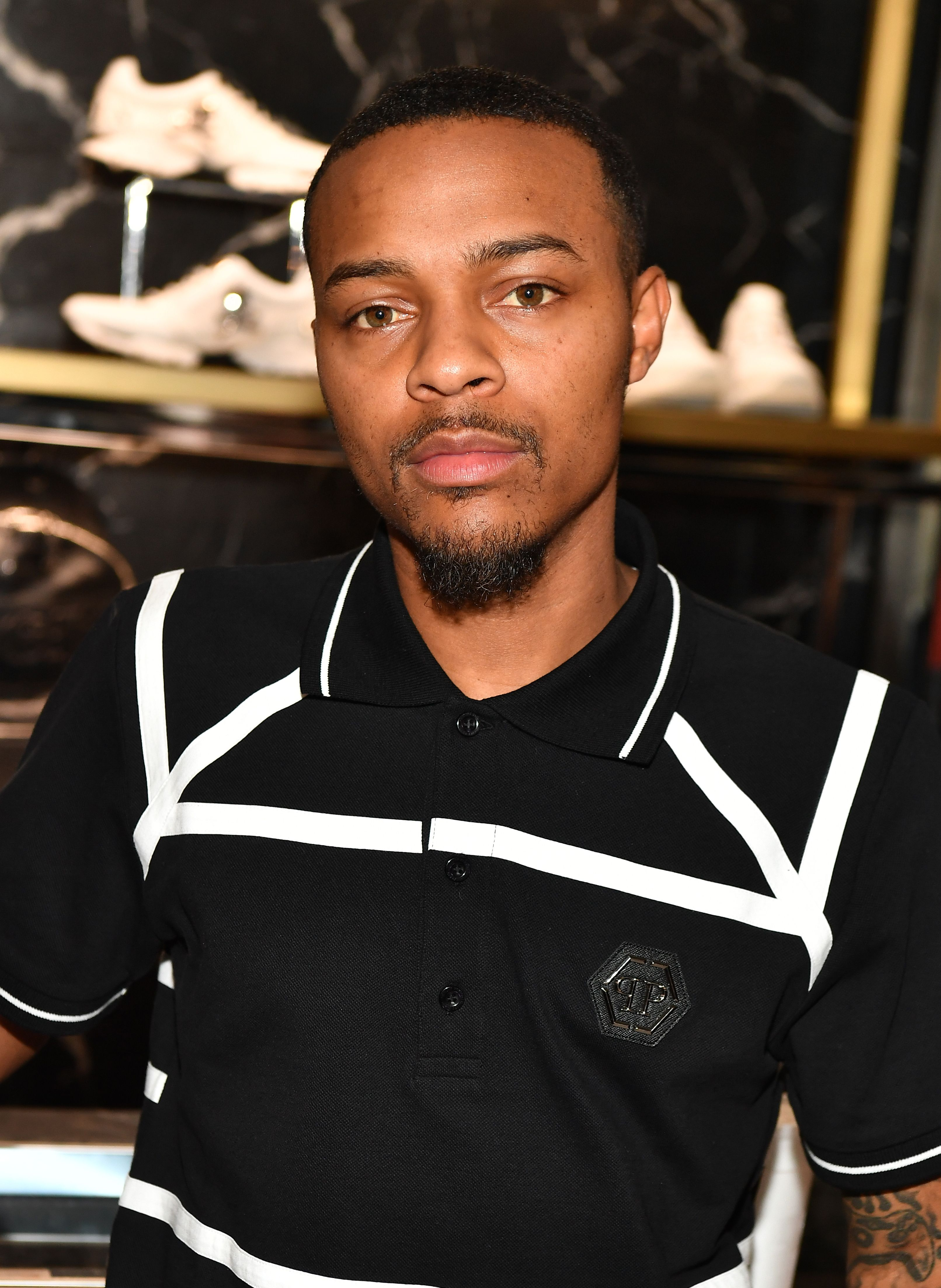 "Shad Moss aka Bow Wow during his ""Rolling Out"" Cover Reveal Party at Philipp Plein Store - Phipps Plaza on July 12, 2018 in Atlanta, Georgia. 