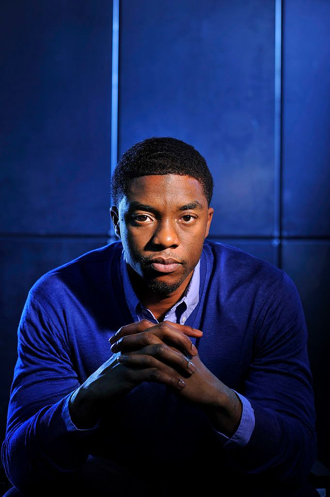 Late actor Chadwick Boseman posed for a portrait at the Ritz-Carlton Georgetown in Washington, DC in March 2013.| Photo: Getty Images