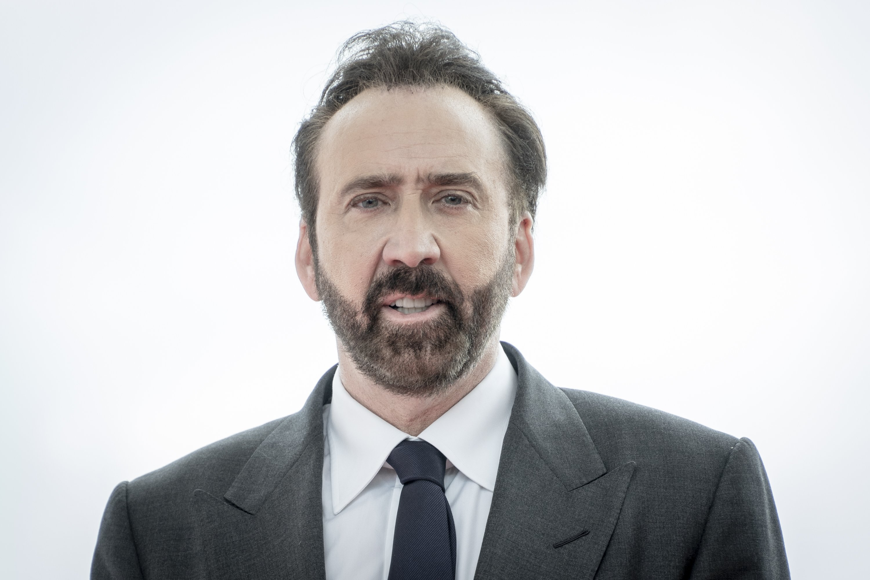 Nicolas Cage poses during a photocall on day three of the Sitges Film Festival 2018 on October 6, 2018, in Sitges, Spain. | Source: Getty Images.