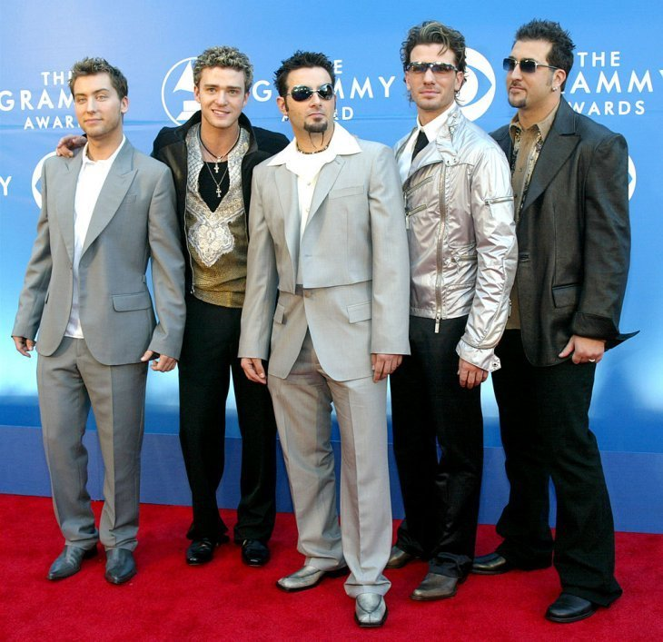 Pop band ''NSYNC attends the 44th Annual Grammy Awards at Staples Center February 27, 2002, in Los Angeles, CA. | Source: Getty Images.