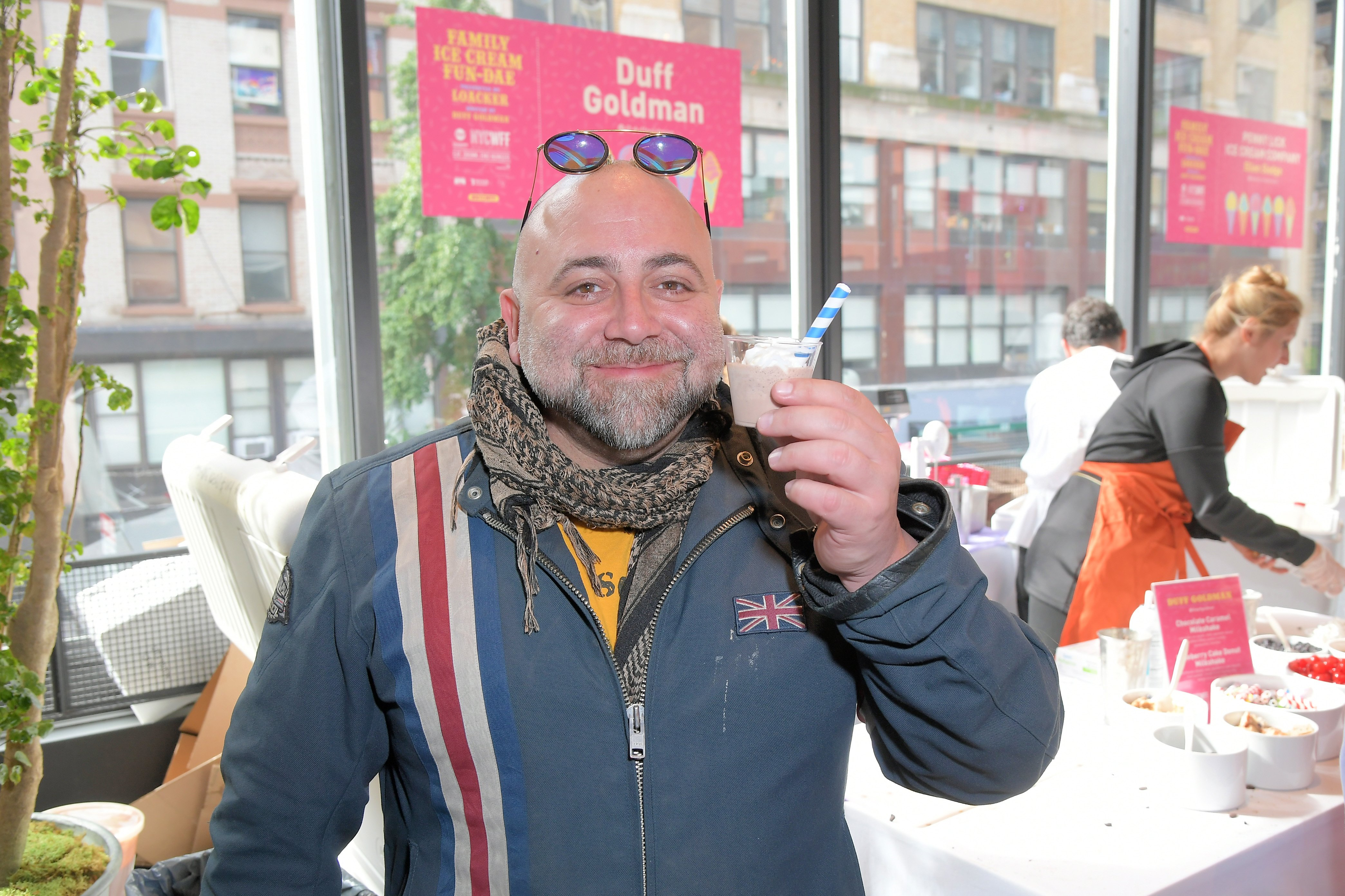 Duff Goldman attends the Wine and Food Festival in New York, October, 2019. | Photo: Getty Images.
