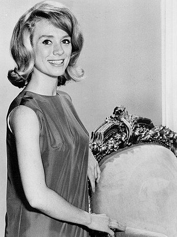 """Inger Stevens from the television series """"The Farmer's Daughter."""" 