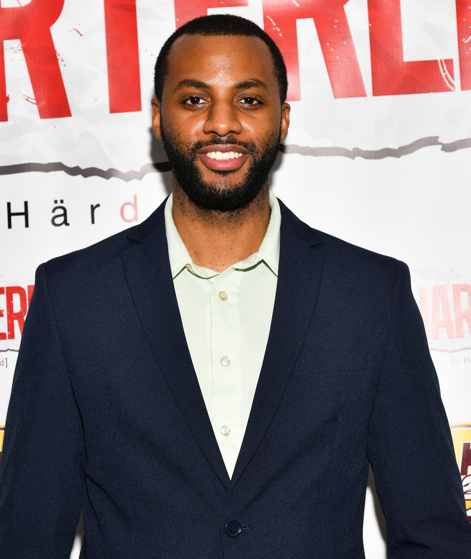 "Jordan Johnson-Hinds during a screening of ""Chartered"" at Laemmle Monica Film Center on January 15, 2019 in Santa Monica, California. 