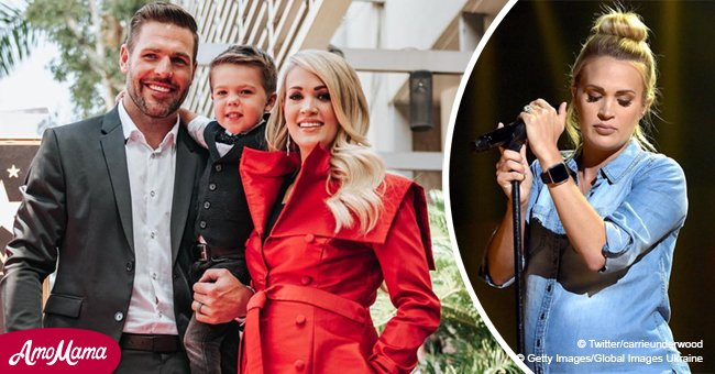 Carrie Underwood prepares to celebrate last Christmas as a 'family of three'
