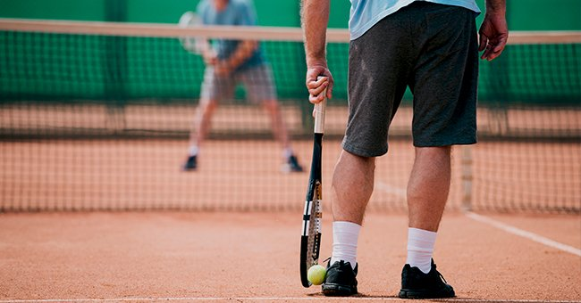 Daily Joke: An Old Man Decides to Start Playing Tennis