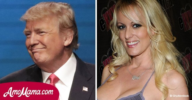 Adult-film star claims Donald Trump and Stormy Daniels tried to have a threesome with her