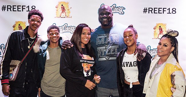 A picture of Shaquille O'Neal and his family | Photo: Getty Images