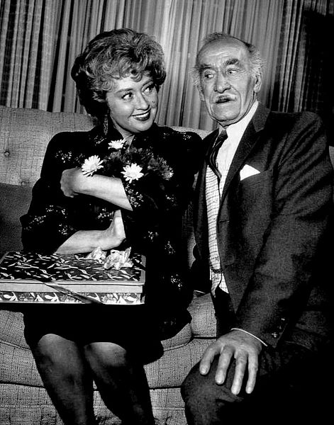 "Joan Blondell and Andy Clyde from the television program ""The Real McCoys.""  