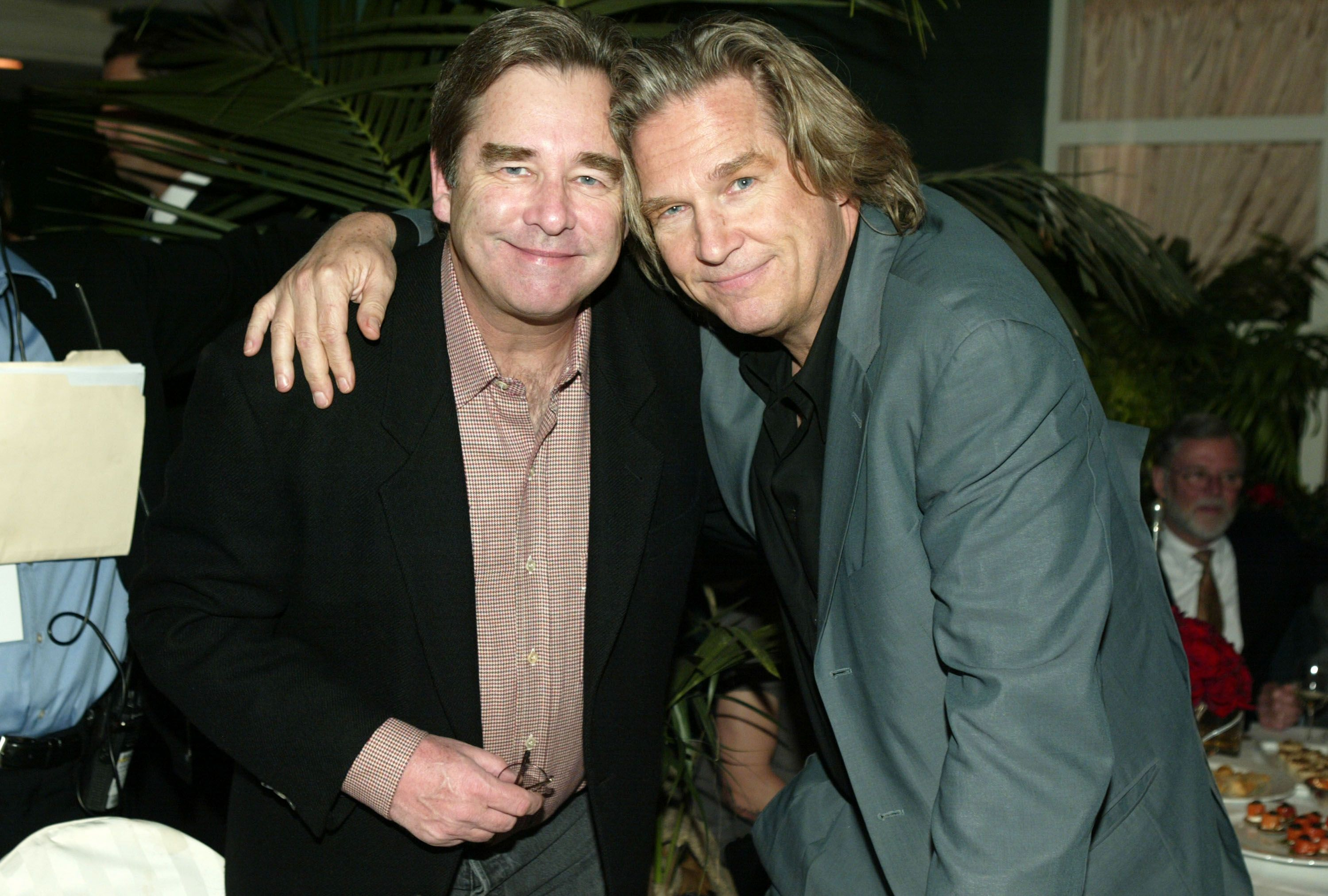 """Beau Bridges and Jeff Bridges at the """"Seabiscuit"""" DVD Launch -Party in Beverly Hills 