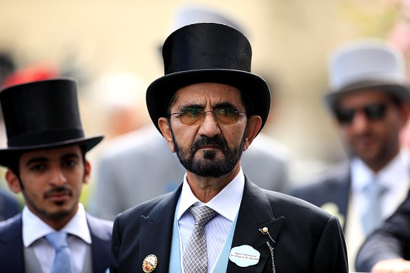 Sheikh Mohammed bin Rashid Al Maktoum during day five of Royal Ascot at Ascot Racecourse in 2019.   Photo: Getty Images