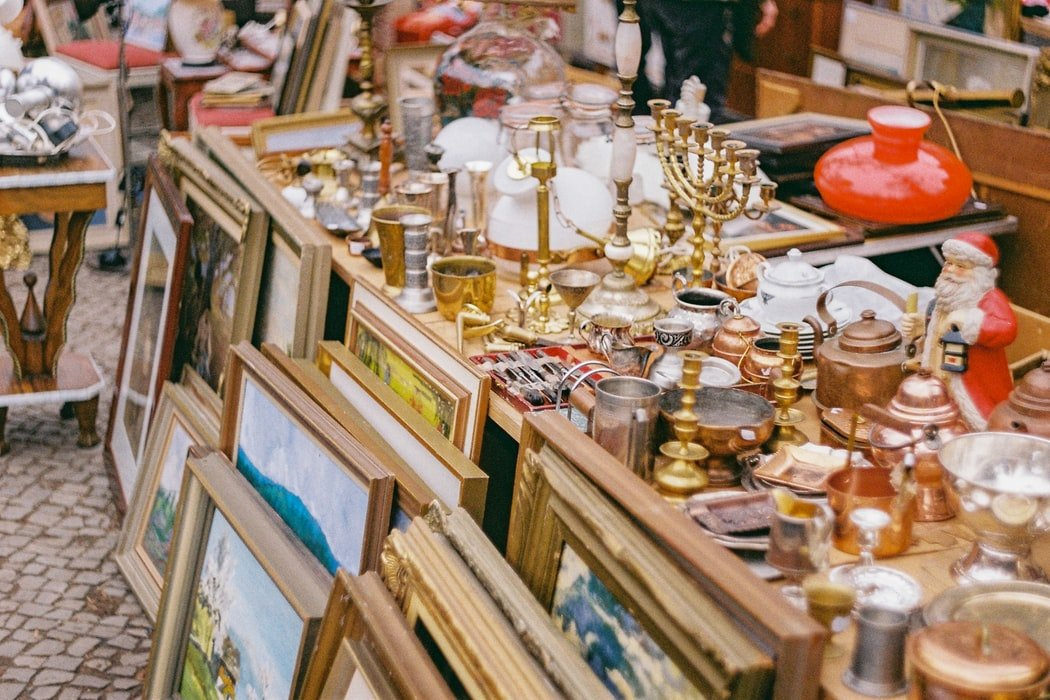 I would haunt every flea market or street fair for a hundred miles around | Source: Unsplash