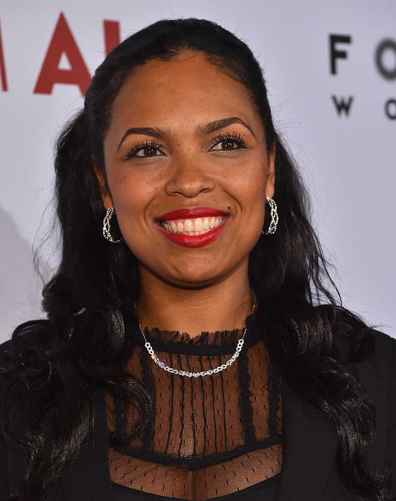 "Hana Ali attend the Los Angeles premiere of Focus World's ""I Am Ali"" at ArcLight Cinemas 