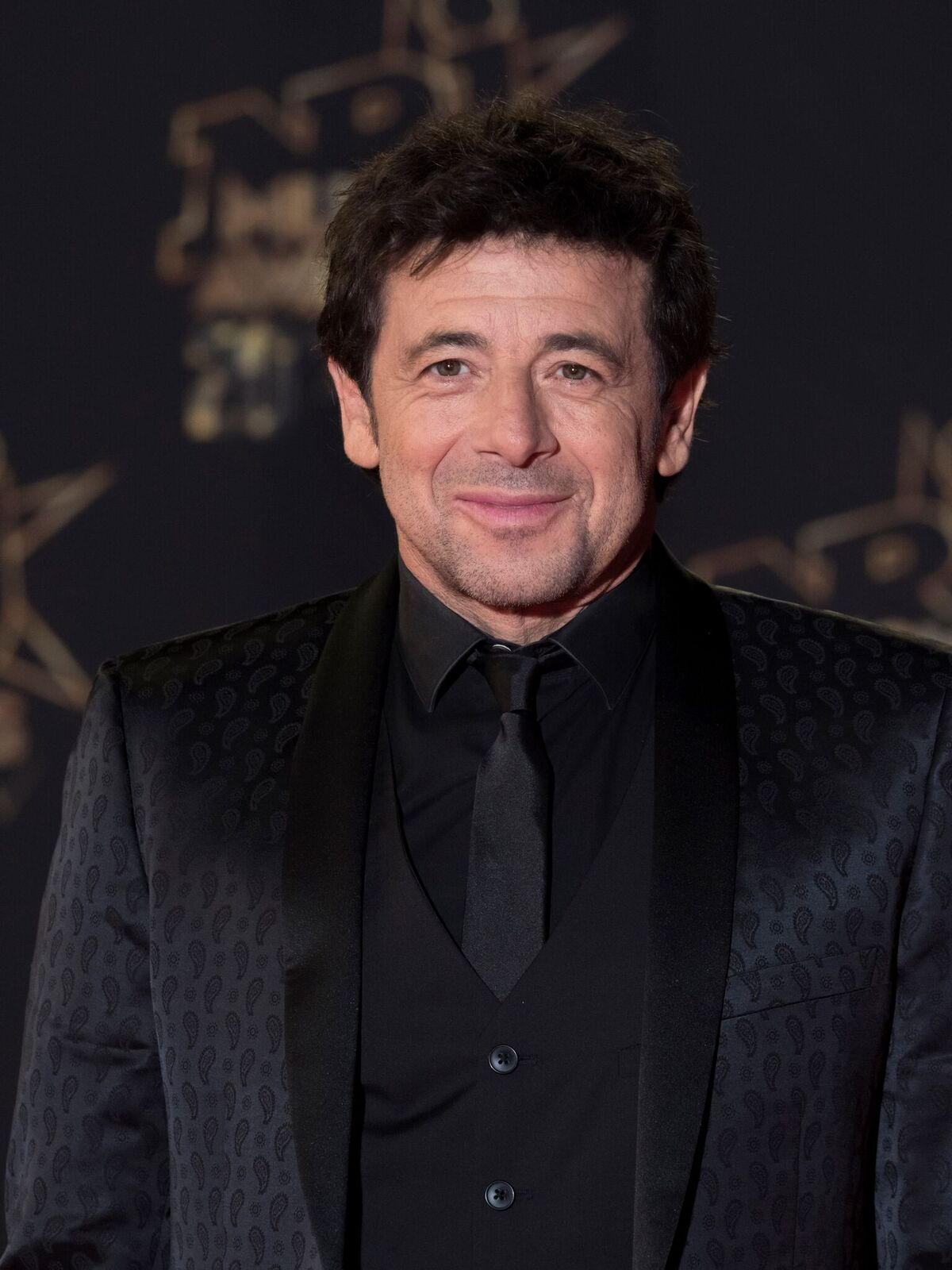 Patrick Bruel participe à la 20ème édition des NRJ Music Awards au Palais des Festivals. | Photo : GettyImage