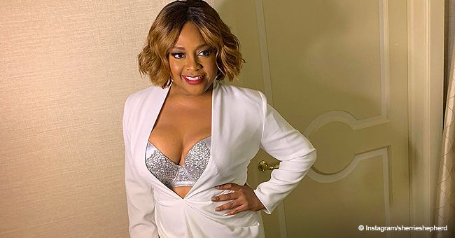 Sherri Shepherd Shows off 30-Pound Weight Loss in Custom Glittery Bra and Tight White Suit