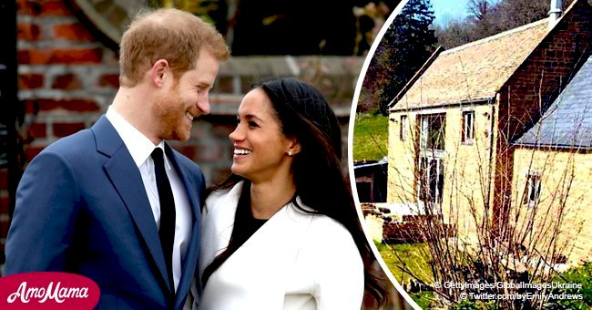 The Sun: Here's the first photo of Meghan and Harry's new love nest that costs more than $3 million