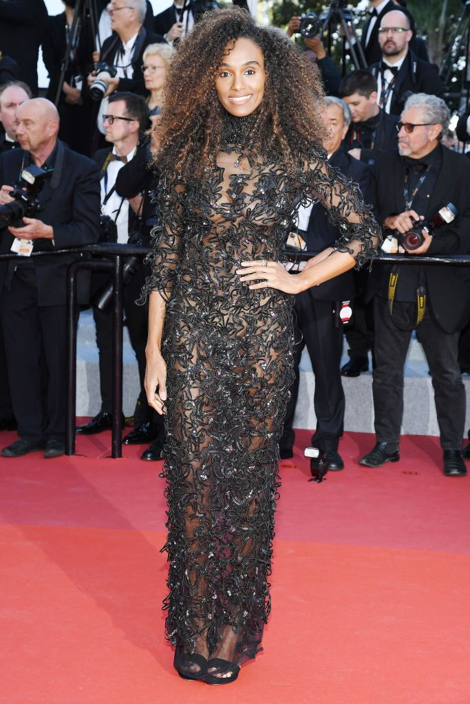 """Gelila Bekele attends the screening of """"Les Miserables"""" during the 72nd annual Cannes Film Festival on May 15, 2019 