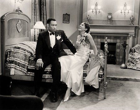 "Fredi Washington and Paul Robeson in the 1933 film, ""Emperor Jones"" 
