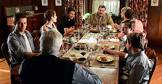 Look Back at Scenes from the Reagans' Family Christmas Dinners on 'Blue Bloods'
