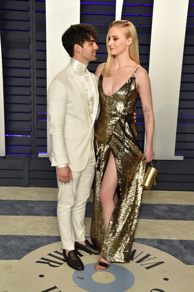 Joe Jonas and Sophie Turner on February 24, 2019 in Beverly Hills, California | Photo: Getty Images