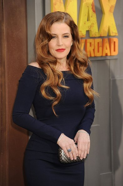 "Lisa Marie Presley arrives at the ""Mad Max: Fury Road"" Los Angeles Premiere on May 7, 2015 