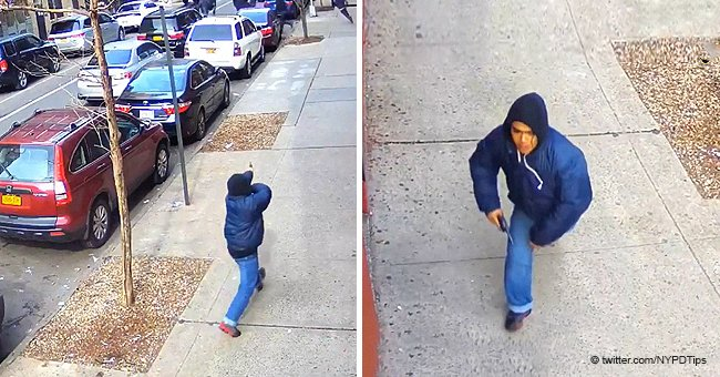 Police Release Chilling Video of NYC Gunman Opening Fire in Broad Daylight