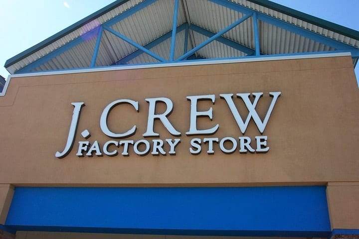 Image Credits: J. Crew Outlet Store/Wikimedia Commons
