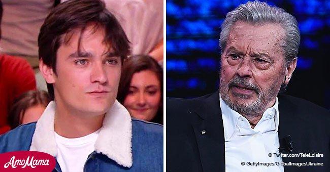 'Je suis plus ouvert que lui': la comparaison d'Alain-Fabien Delon qui ne fera pas plaisir à son père