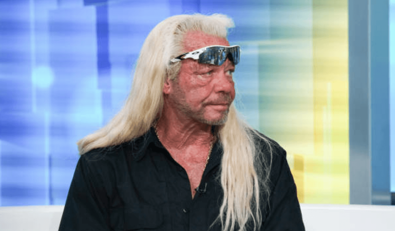 "Duane ""Dog"" Chapman sits down for an emotional interview with  ""FOX & Friends,"" on August 28, 2019, in New York City 