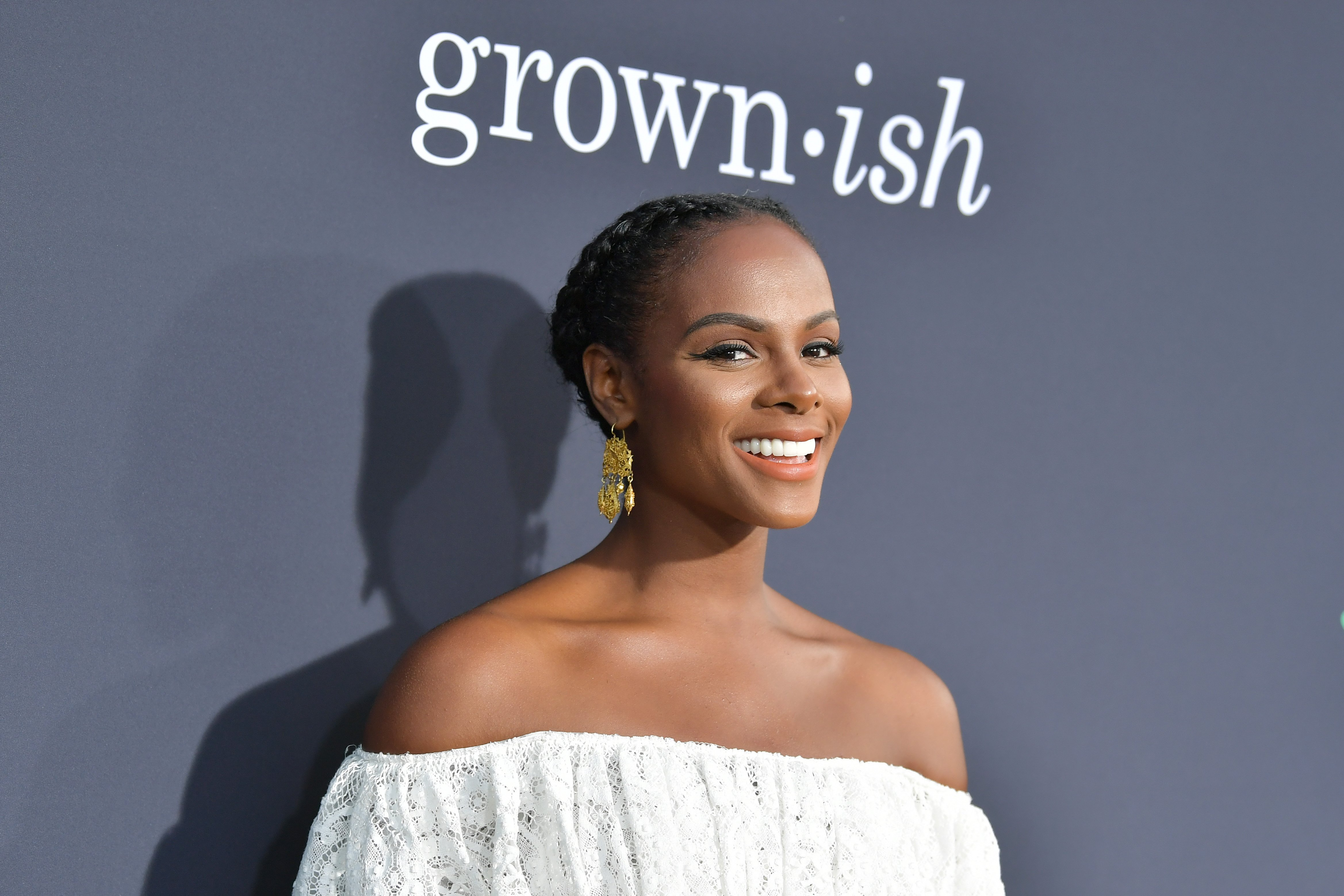 "Tika Sumpter attending  POPSUGAR X ABC's ""Embrace Your Ish"" event in September 2019. 