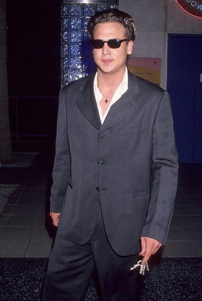 "Nick Savalas (Telly Savalas' son) attends the ""Backbeat"" Hollywood Premiere on April 13, 1994 