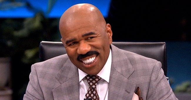 Steve Harvey Opens up about Being a Grandpa & How His Grandson Embarrassed Him Amid a Zoom Call