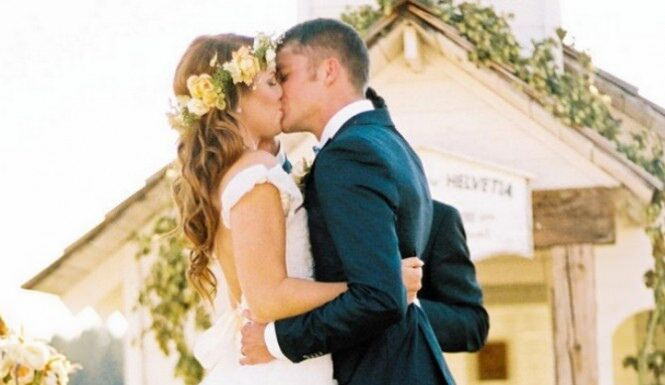 Audrey and Jeremy Roloff at their wedding | Flikr