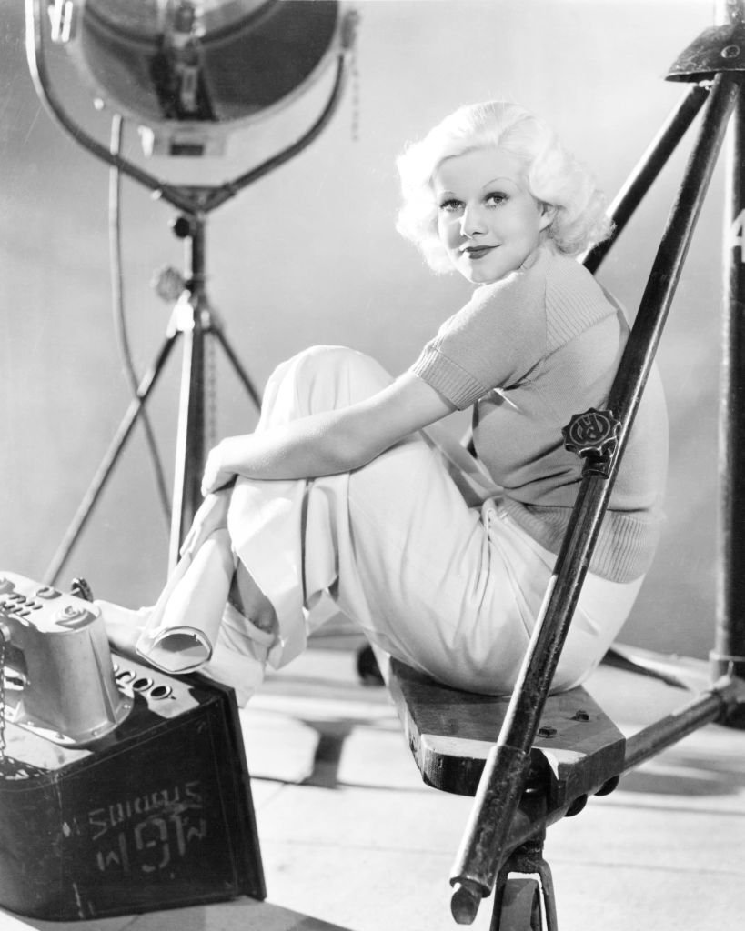 American actress Jean Harlow (1911 - 1937), circa 1935. | Source: Getty Images