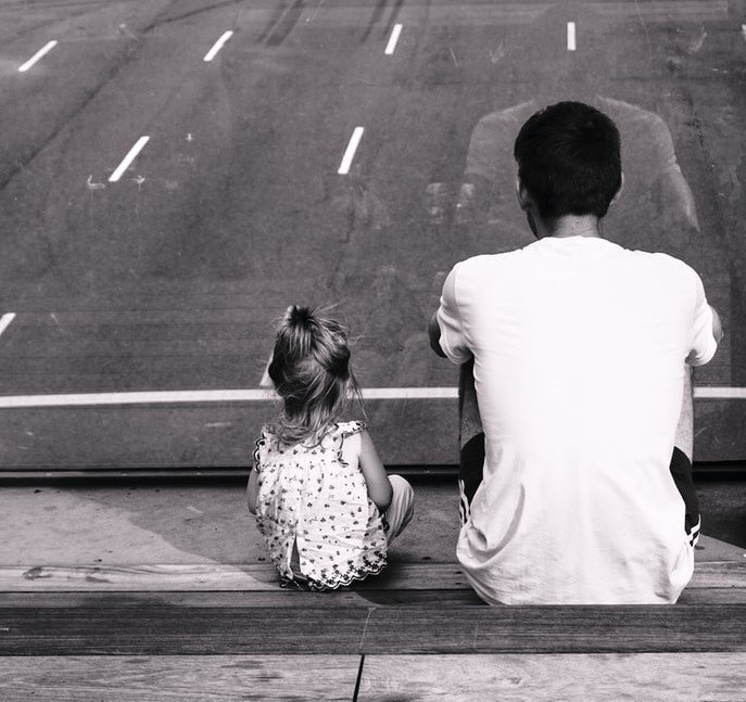 The man was left to raise his child alone | Source: Unsplash