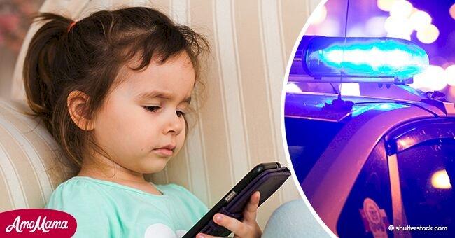 Niña de 6 salva su vida tras 24 horas de estar sola enviando fotos de su padre fallecido al abuelo