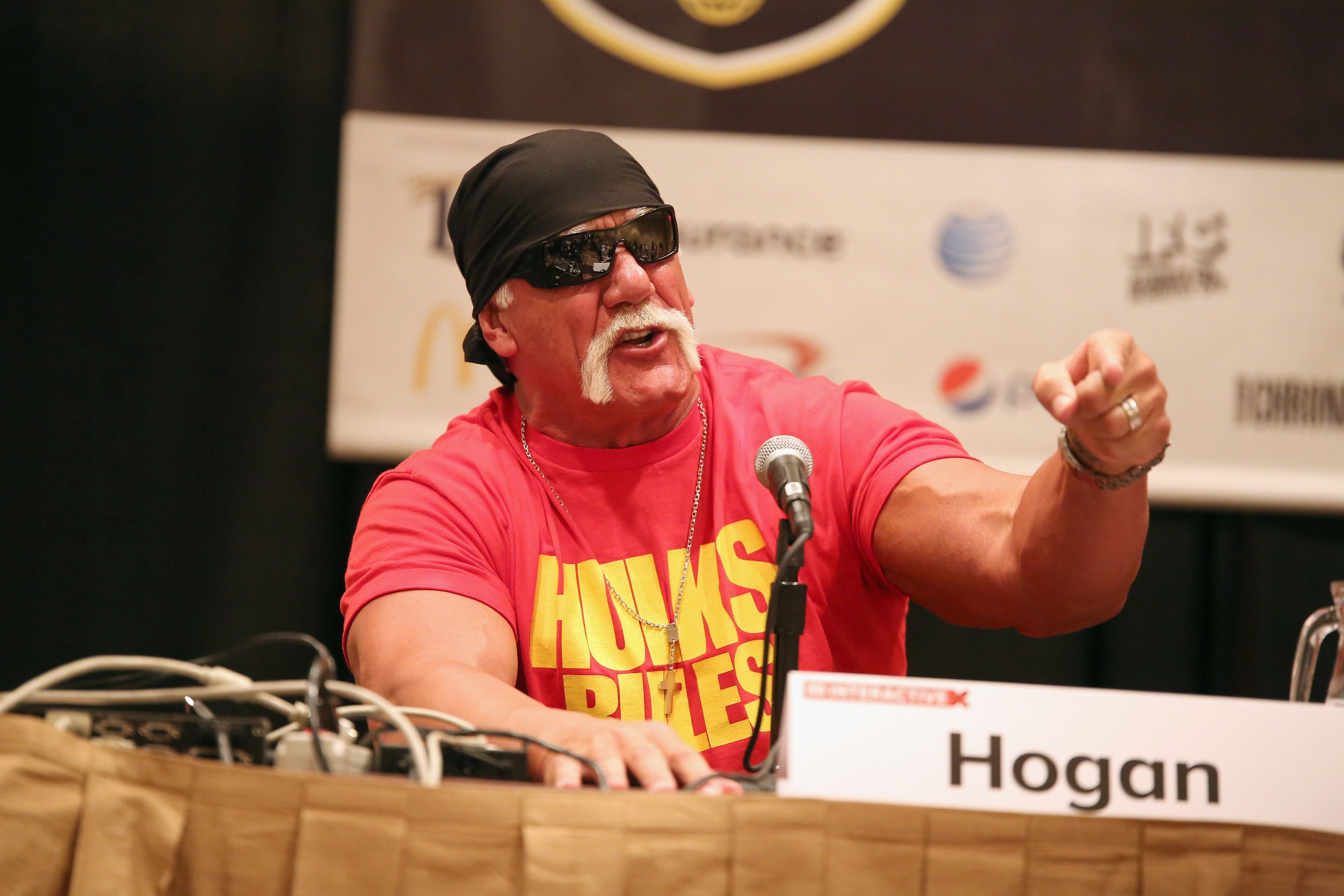 Hulk Hogan at 'Hit A Home Run With Content Creation And Streaming'  on March 15, 2015, in Austin, Texas | Photo: Heather Kennedy/Getty Images