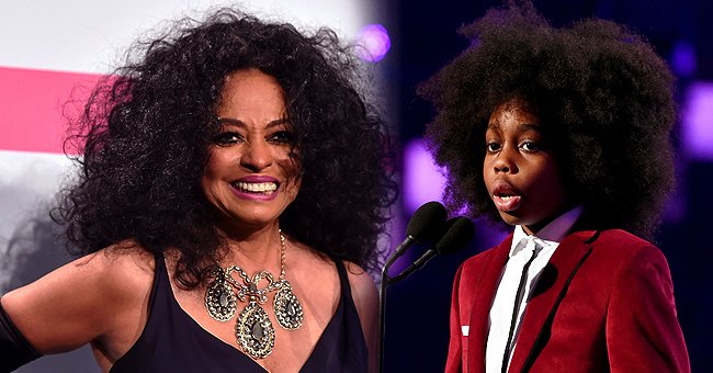 Diana Ross' Grandson Raif-Henok Can Speak 4 Different Languages at the Age of 10