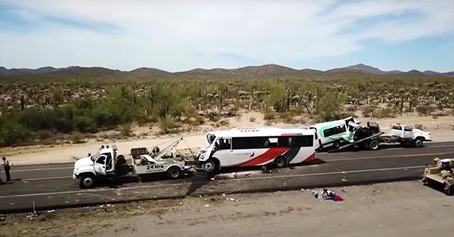 Victims Identified After 16 People Die and Are 14 Injured In a Horrific 2-Bus Crash In Mexico