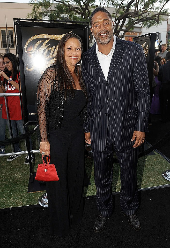 """Actress Debbie Allen and husband, former NBA player Norm Nixon arrive at the premiere of MGM Pictures' """"Fame"""" in 2009 