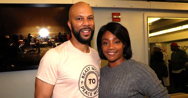 Tiffany Haddish Gets Steamy with Boyfriend Common as They Join the 'Silhouette Challenge' on IG
