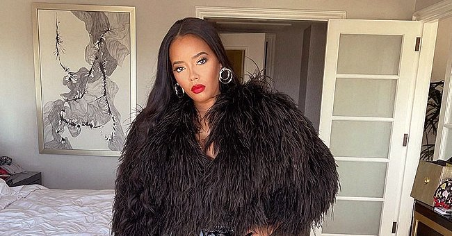 Angela Simmons Flaunts Her Seductive Legs Doing Catwalk in Leather Shorts (Video)