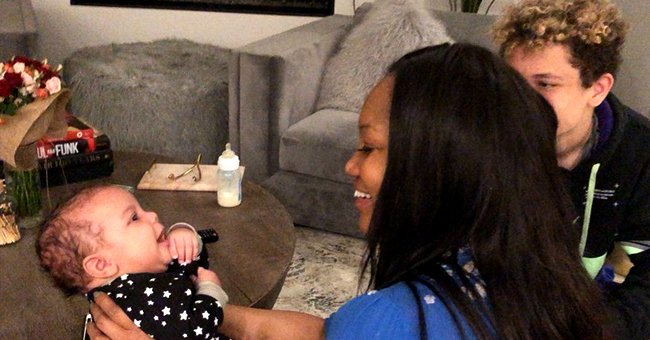 Garcelle Beauvais of 'Jamie Foxx Show' Baby Talks to Her Grandson in a Cute Video