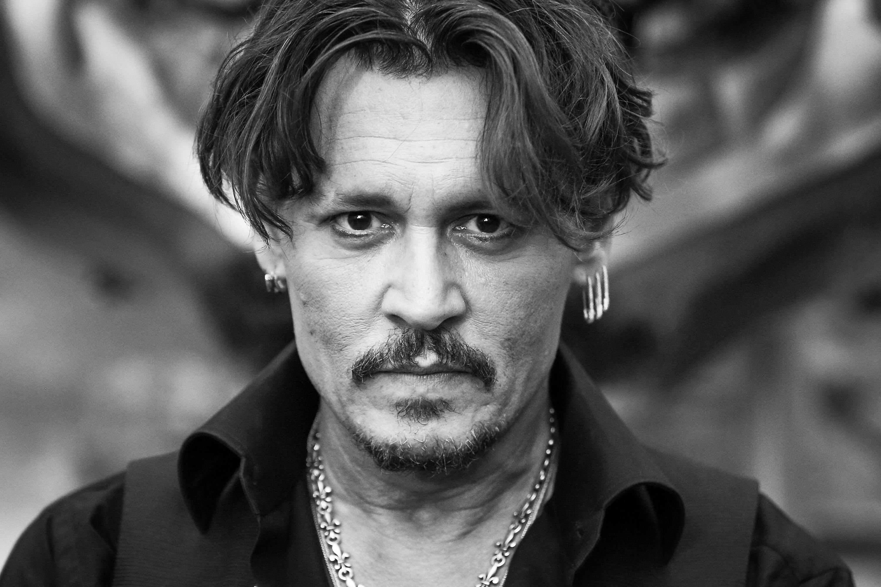 "Johnny Depp attends the premiere of Disney's ""Pirates Of The Caribbean: Dead Men Tell No Tales."" 