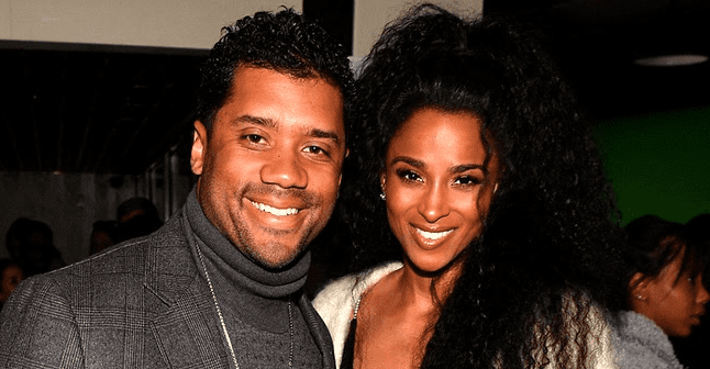 Russell Wilson Says He's Pampering Pregnant Wife Ciara & Making Sure the Singer Gets Anything She Wants