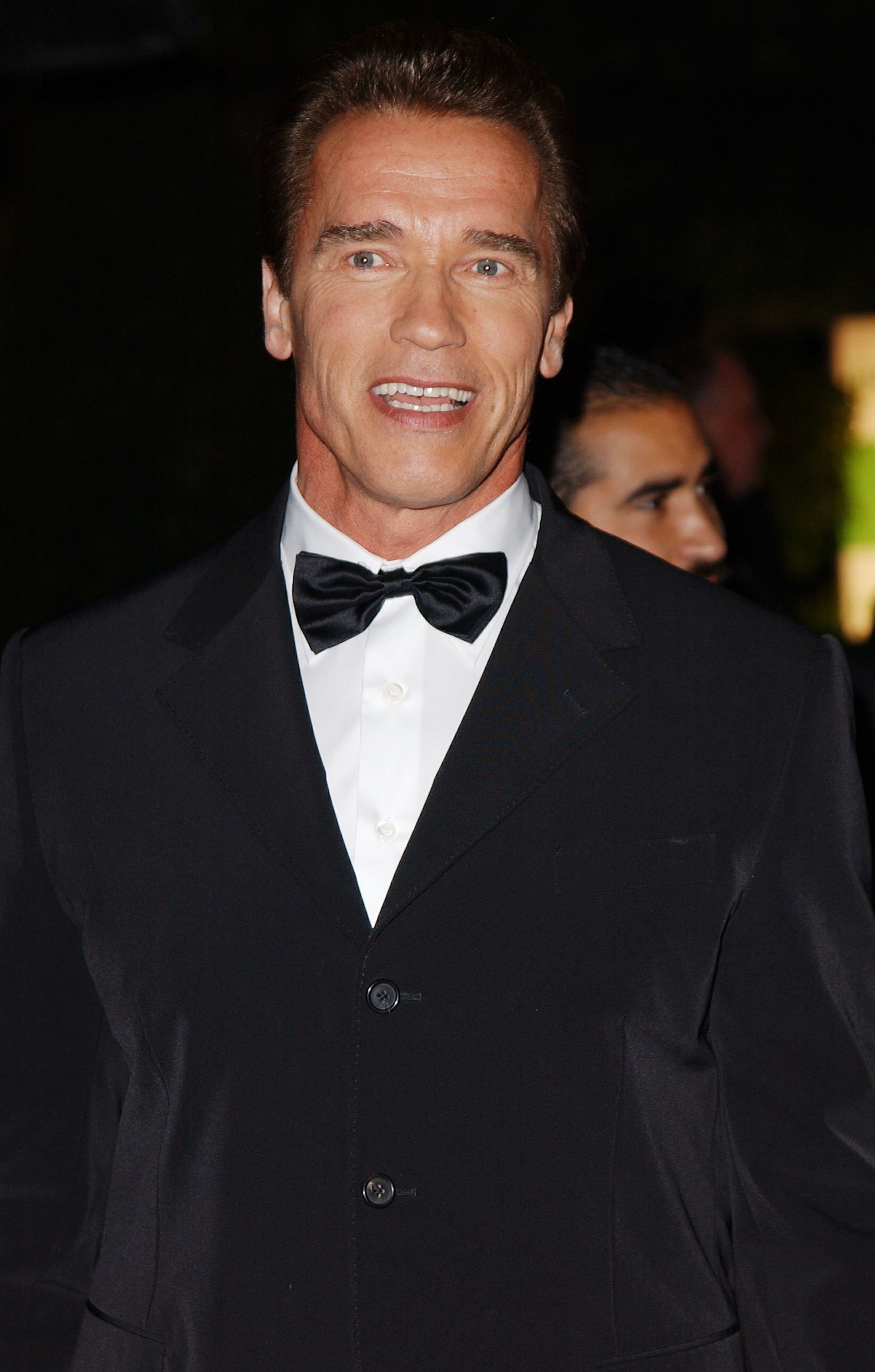 Arnold Schwarzenegger attends a Mentor Foundation event in Hollywood, California on November 3, 2002 | Photo: Getty Images