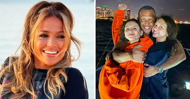 J Lo's Fiancé A-Rod Cuddles with Daughters Natasha & Ella in Cute Pic — Fans Gush over His Post