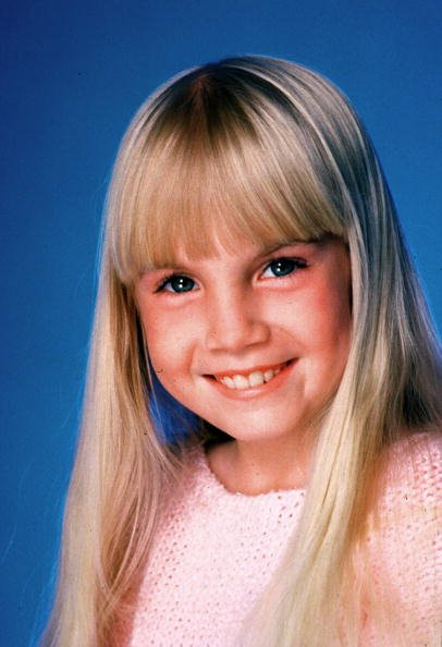 Heather O'Rourke photographed in Los Angeles, CA at the Photo Studio Session in Los Angeles, California, undated picture. | Photo: Getty Images