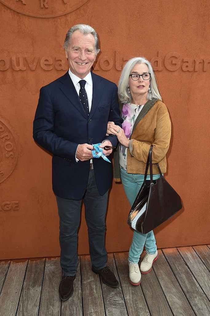 William Leymergie and his wife Maryline attend day five of the 2016 French Open at Roland Garros on May 26, 2016 in Paris, France. | Photo : Getty Images