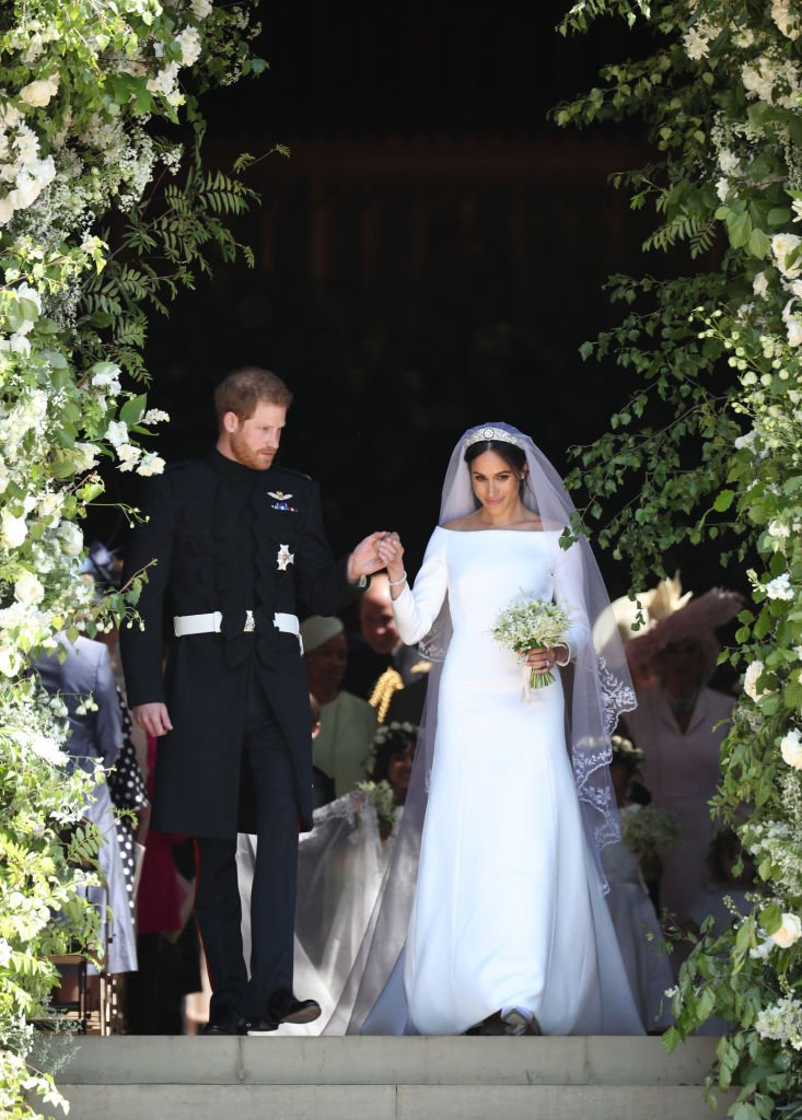 Meghan Markle and Prince Harry. I Image: Getty Images.